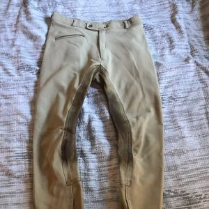 Women's Tan Full Seat Breeches Size 34